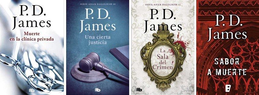 Saga libros P. D. James